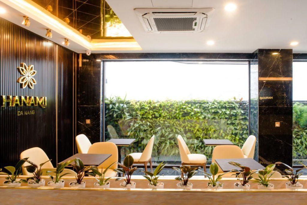 Hanami Hotel Danang coffee