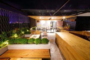 Không gian vườn sân thượng Hanami