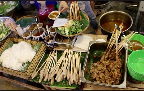 món ăn ngon tại chợ đêm helio Đà nẵng