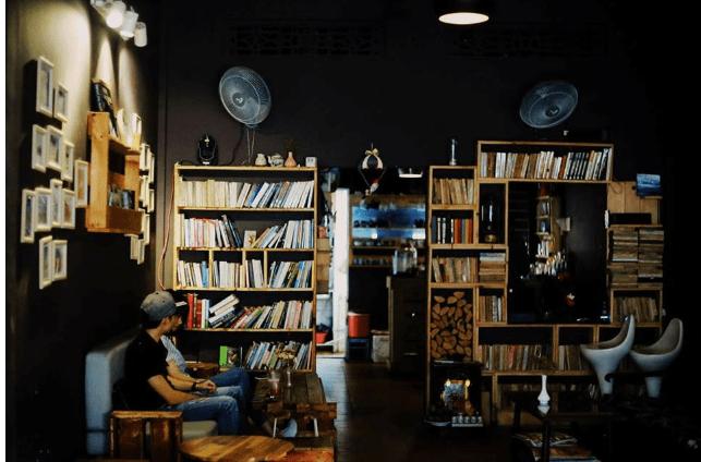 Quán Cafe sách LA PENSEE CAFÉ & LIBRAIRIE Đà Nẵng