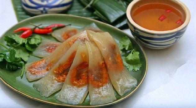 bánh lọc, bánh bột lọc - món ăn vặt ngon Đà Nẵng