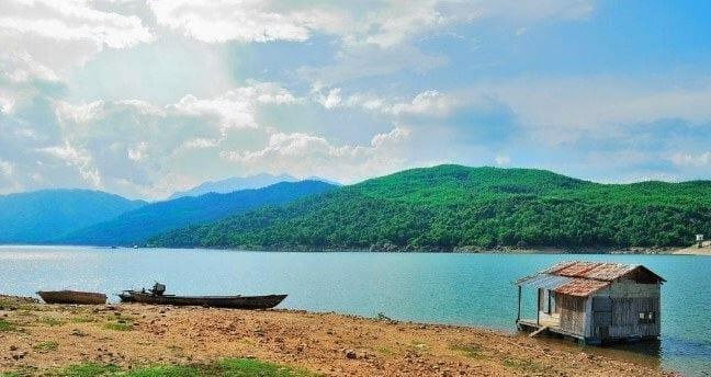 Hồ đồng xanh đồng nghệ đà nẵng - địa điểm vui chơi đà nẵng thiên nhiên