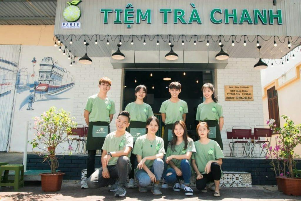 Tiệm Trà Chanh Paris ở Đà Nẵng