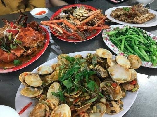 quán hải sản ngon ở đà nẵng - hải sản bé mặn
