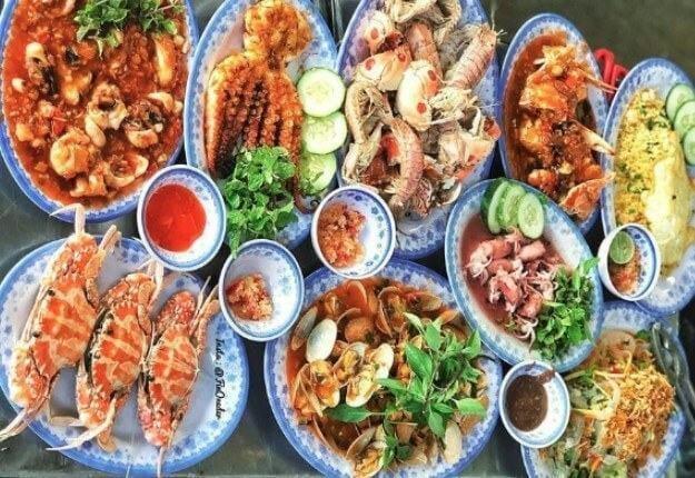quán hải sản ngon ở đà nẵng - hải sản năm đảnh