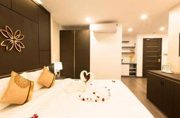 phòng khách sạn cho tuần trăng mật ở đà nẵng