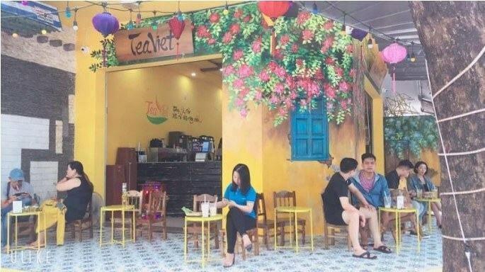 quán trà chanh Teaviet Đà Nẵng