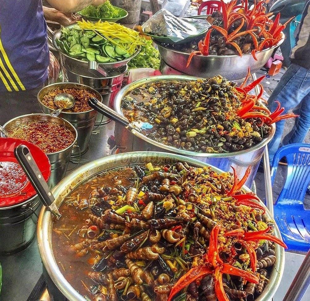 Ốc Hà chợ Cồn Đà Nẵng