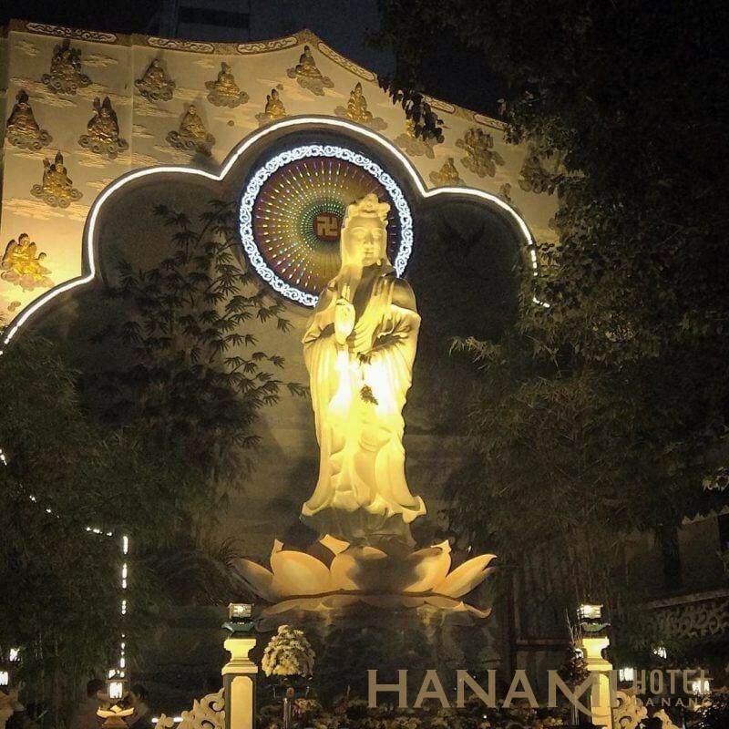 chùa bát nhã Đà Nẵng
