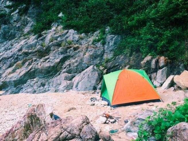 địa điểm cắm trại Ghềnh Bàng ở Đà Nẵng