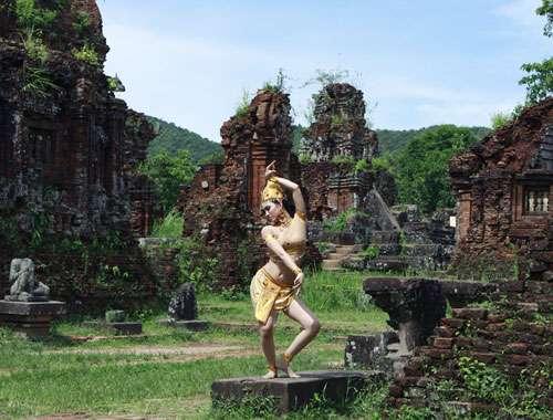 điệu múa Apsara ở thánh địa mỹ sơn