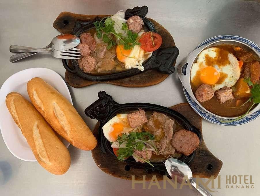 Bò né Lan Hương Đà Nẵng ngon tuyệt vời