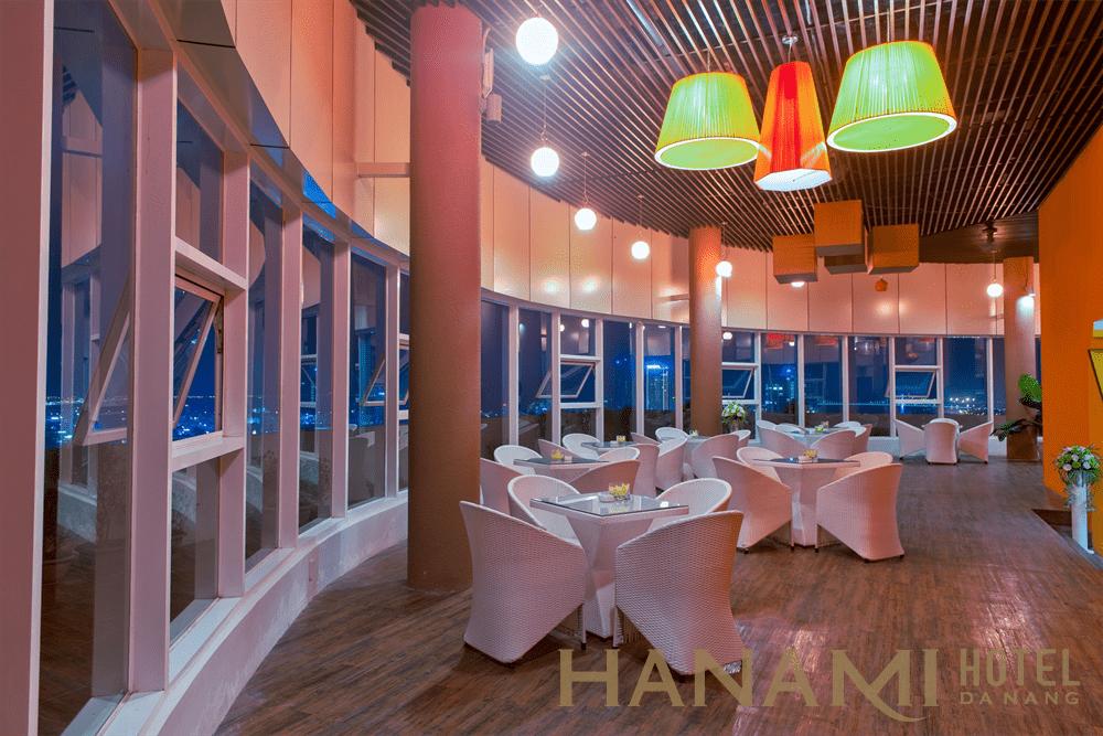Cafe Tourane Bar tầng 26 khách sạn Mường Thanh Đà Nẵng