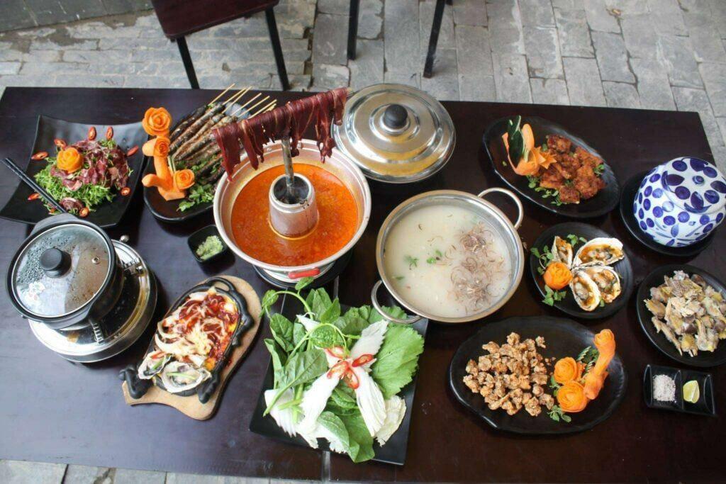 Lẩu ở S.E.N Restaurant Đà Nẵng - mon ngon nên ăn khi đi du lịch Đà Nẵng