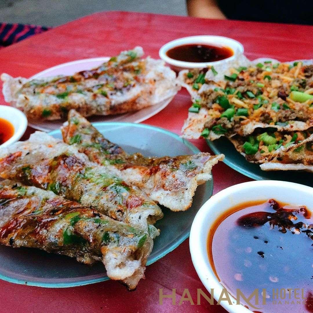 Quán bánh kẹp ở đường Đào Duy Từ Đà Nẵng