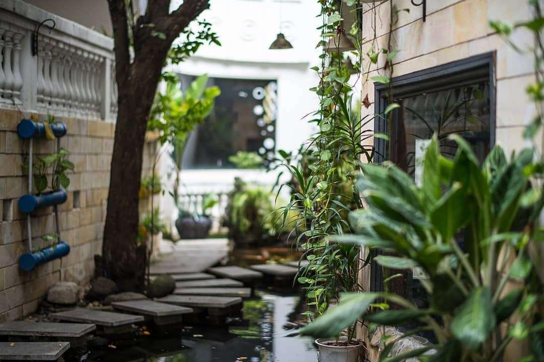 Lối kiến trúc độc đáo, ấn tượng không phải quán cafe nào cũng có được ở Villa café