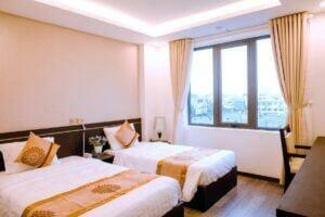 2 giường twin phòng đơn khách sạn Đà Nẵng