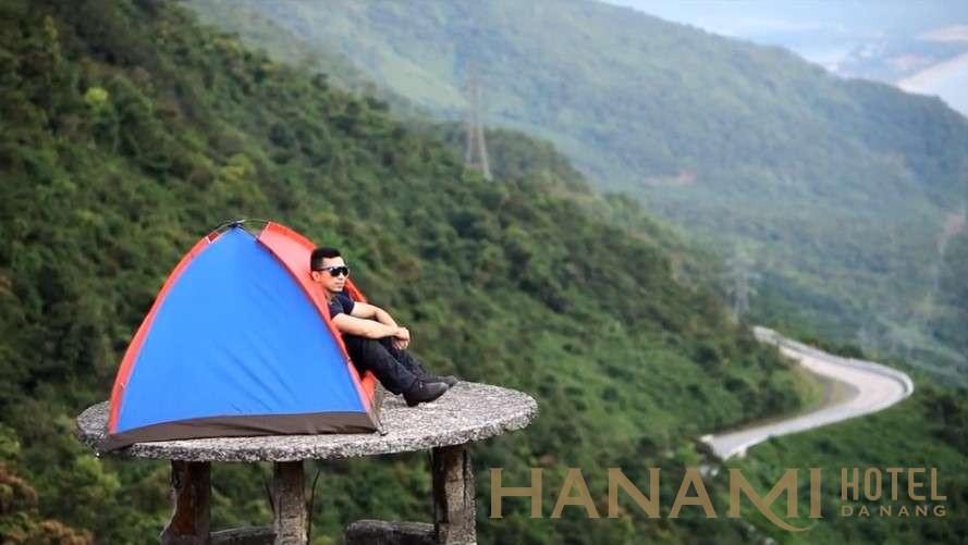 cắm trại ở đèo Hải Vân Đà Nẵng