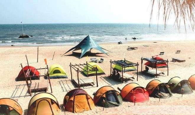 cắm trại ở bãi đá đen Đà Nẵng - kinh nghiệm du lịch Đà Nẵng