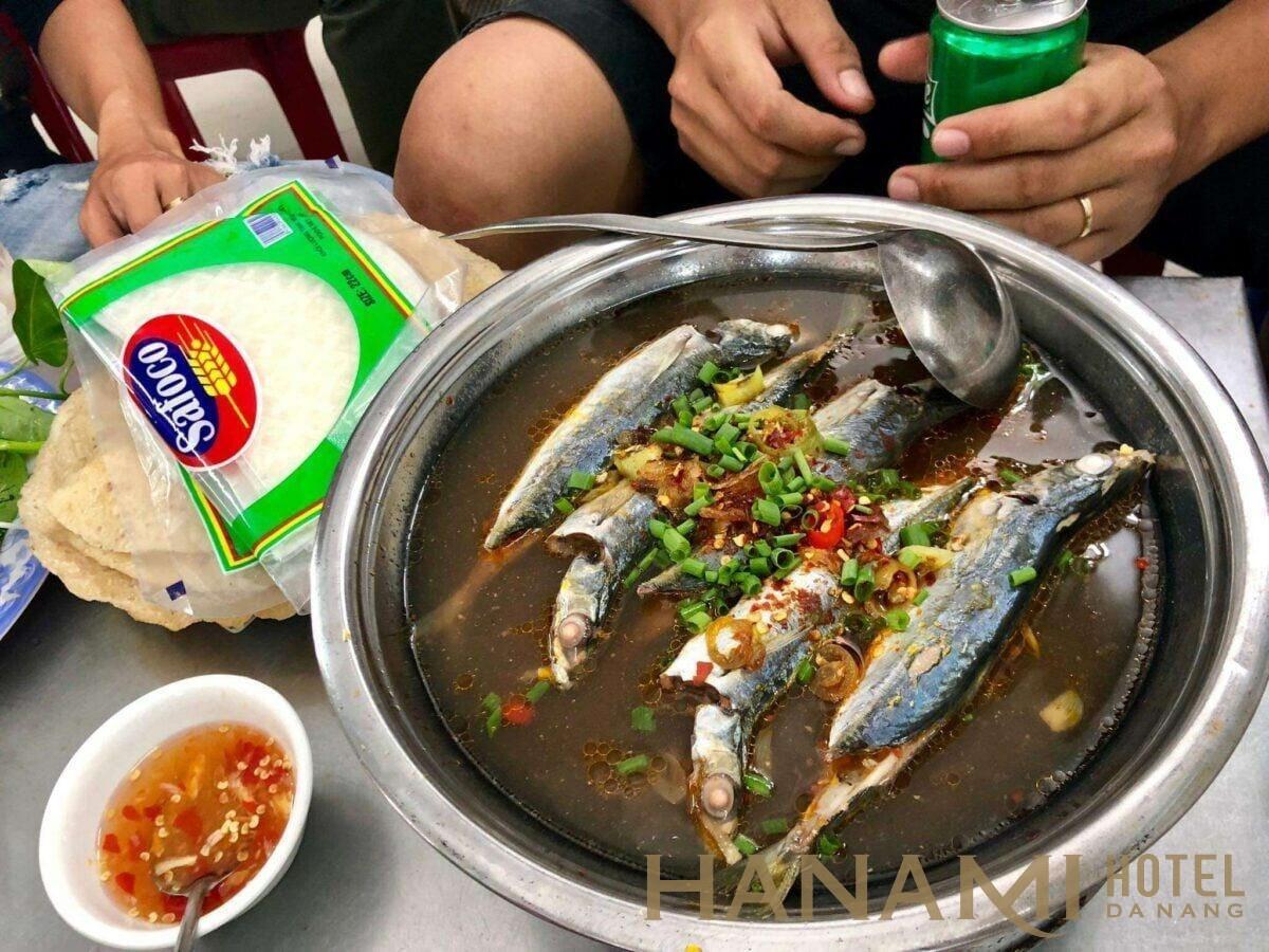 quán Cá nục hấp Bà Xin – món ngon nên thưởng thức khi đặt chân tới Đà Nẵng