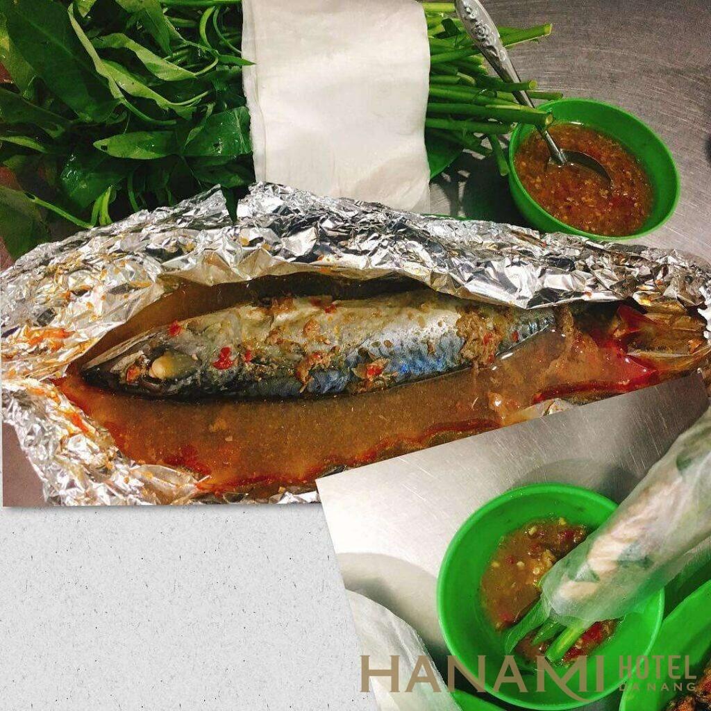 quán Mười Rau - cá nục cuốn bánh tráng Đà Nẵng