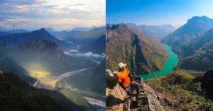 sự tương đồng giữa sông dưới đỉnh Bằng Am và sông nho quế