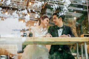 ảnh cưới lung linh ở nhà hàng tiệc cưới Đà Nẵng