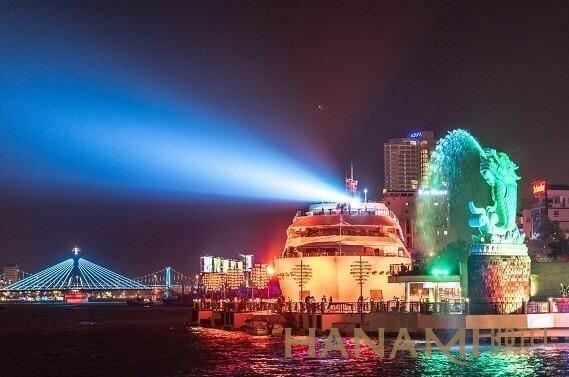 kinh nghiệm du lịch Đà Nẵng bằng du thuyền sông hàn