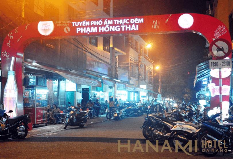 Phố ăn đêm Phạm Hồng Thái